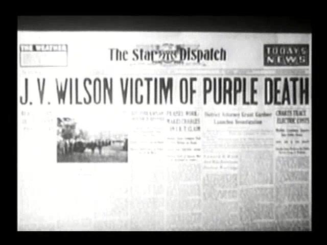 CAPTAIN AMERICA **The Purple Death** (Episode 1) 1944
