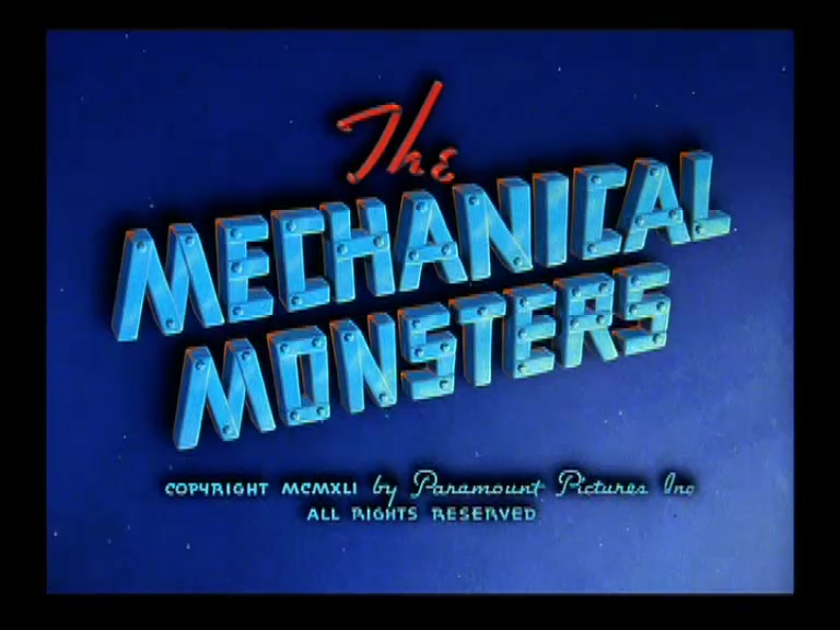 SUPERMAN **Mechanical Monster** 1942