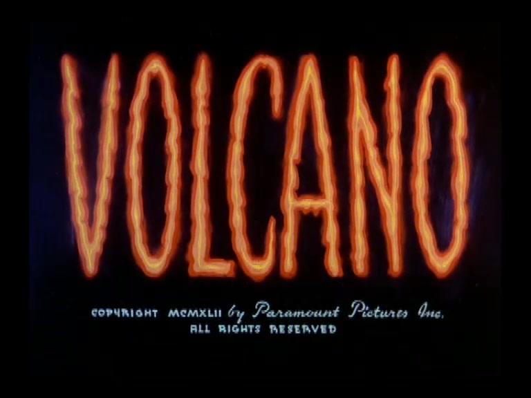 SUPERMAN **Volcano** 1942