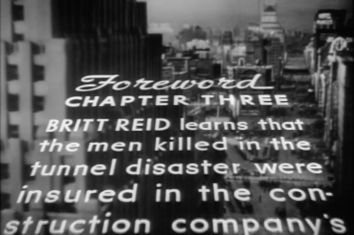 THE GREEN HORNET **Flying Coffins** (Episode 3) 1940
