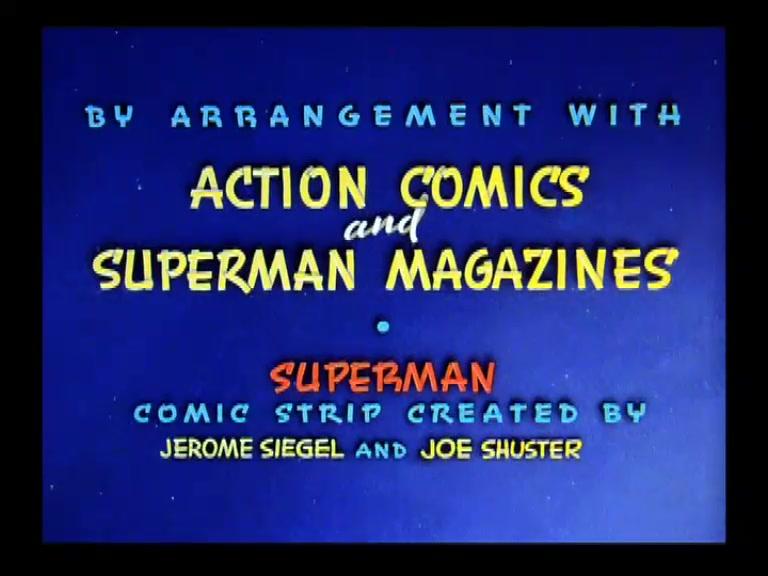 SUPERMAN **Mad Scientist** 1942
