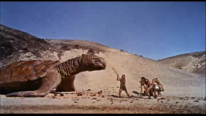 Movie Trailer: **ONE MILLION YEARS B.C.**