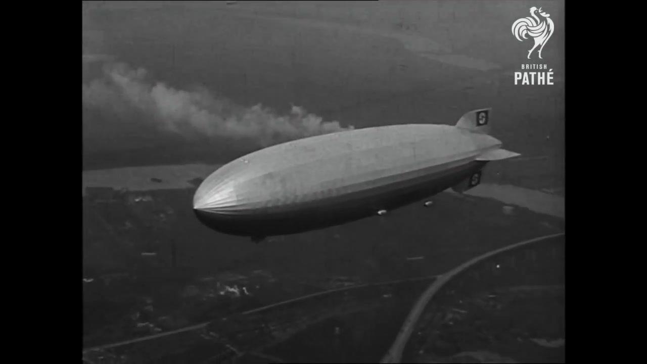History TV: **HINDENBURG DISASTER Real Footage** 1937 HD